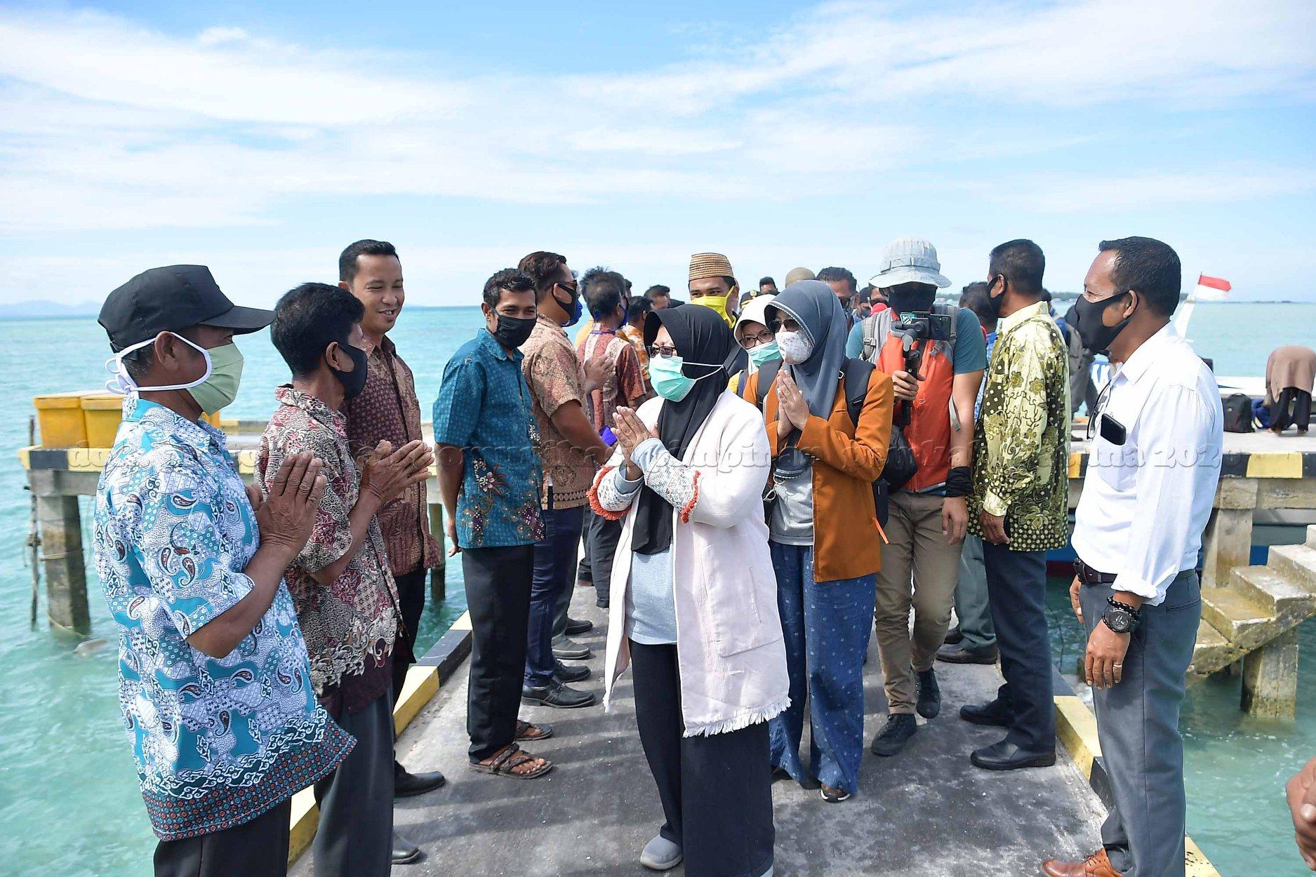 Wakil Bupati Natuna Kunker ke Pulau Panjang, Kerdau dan ...